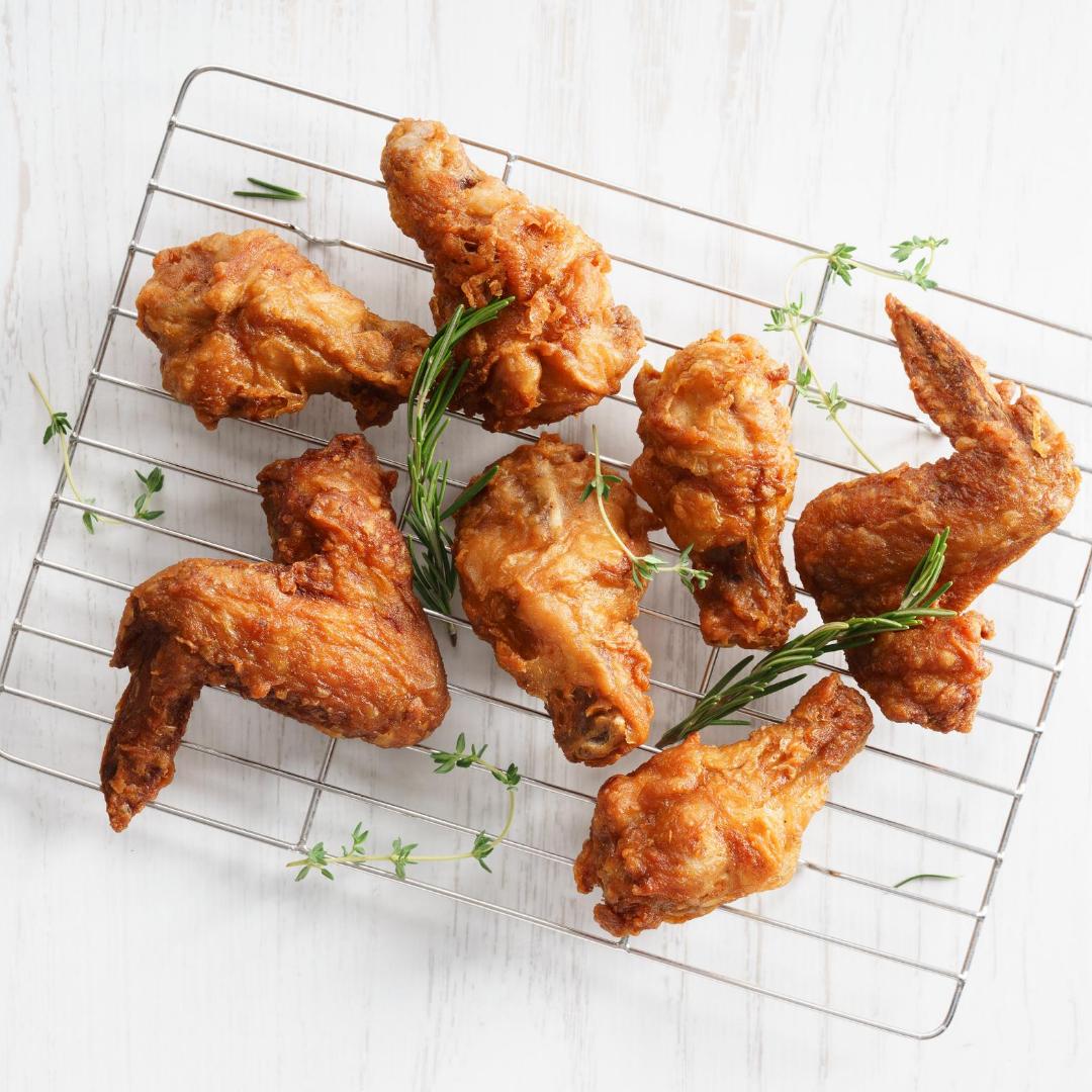 Alette di pollo impanate al forno